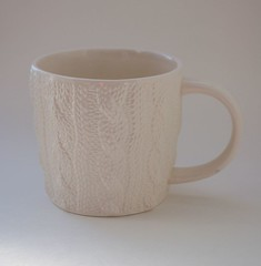 Knitted mug from Starbucks