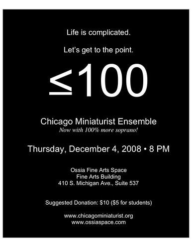 12-4 Chicago Mini Poster!!