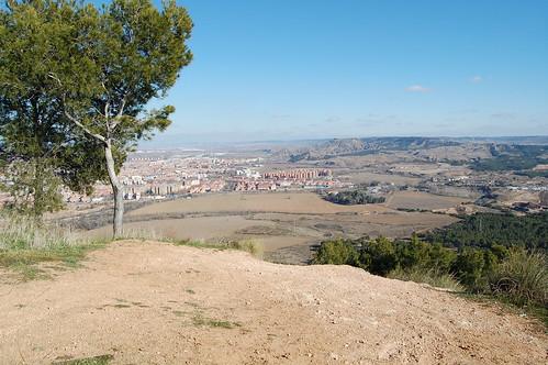 Nueva Alcalá desde el cerro del viso (I)