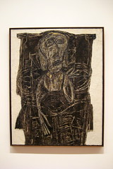 NYC - MoMA: Jean Dubuffet's Joë Bousquet in Bed