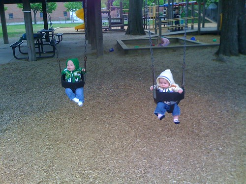 First swings