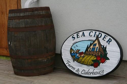 Sea Cider Signage