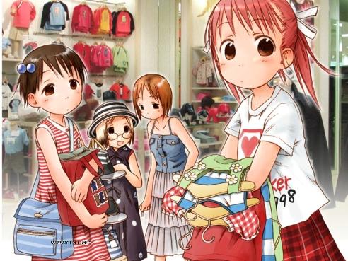 ichigo mashimaro girls