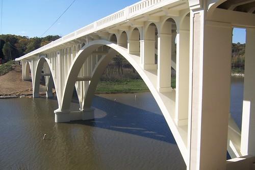 Bridge over Cagle Mill Lake