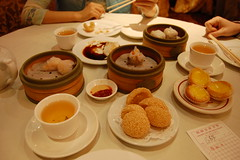 our table at dim sum