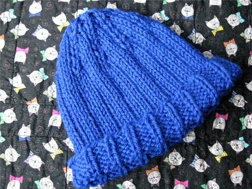 ribbed cap