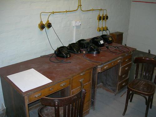 Communications desk
