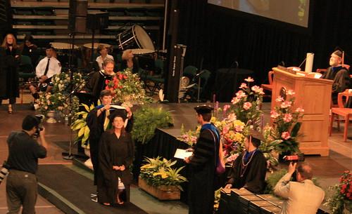 KP's graduation at UofO