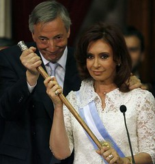El matrimonio presidencial argentino.