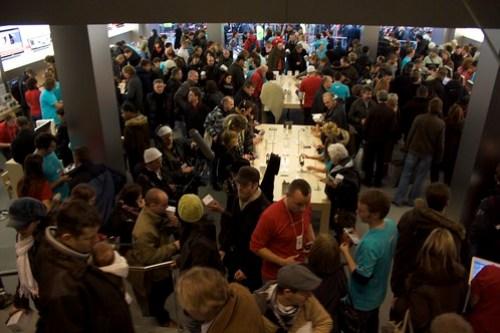 München Apple Store Eröffnung