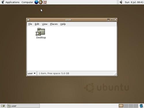 Ubuntu Warty Warthog