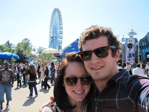 Mr. and Mrs. Fancy Pants at the Texas State Fair