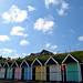 Pastel Beach Huts 2