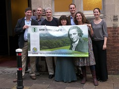 The Lewes Pound team