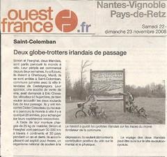 Week 3- France-  St Colomban