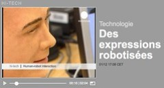 euronews | Des expressions robotisées