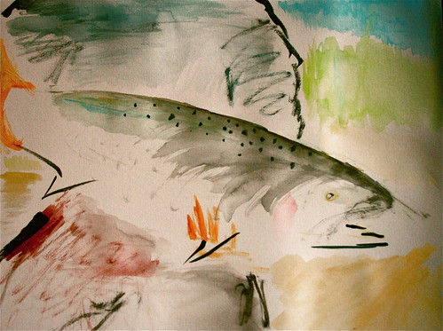 Willamette Summer Steelhead Painting