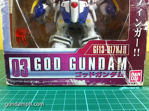 SD Archive God Gundam (6) Out Of Box Review
