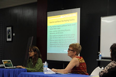 Presenter Dr. Judy Flores at FestPac Workshop, 2014