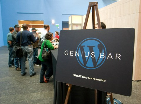 WordCamp 2008 Genius Bar