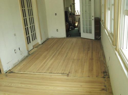 Sanded floor 2
