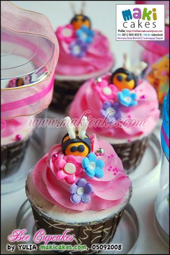 Bee Cupcakes - Maki Cakes