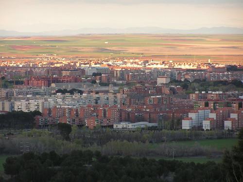 Alcalá desde las alturas
