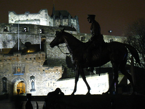 Edinburgh Castle by Night