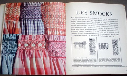 Les smocks (smocking)