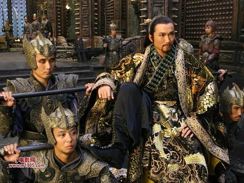 Jade Warlord and his army