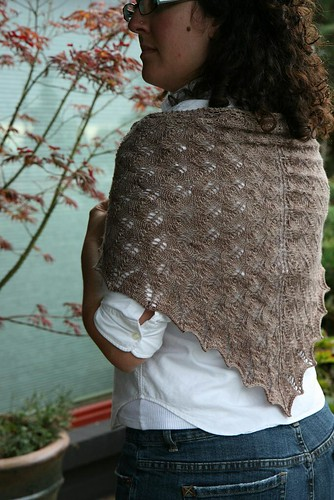 Shetland Triangle Shawl by you.