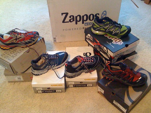 Zappos Trail Shoes