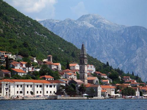 Perast en el Fiordo de Kotor