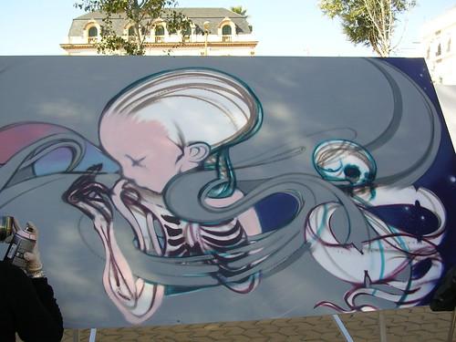 Ambiente del tabaco. Grafiti 52.
