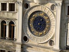Zodiac clock in San Marco, Venice