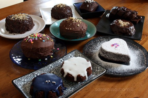 10 Mini-Cakes for a Birthday