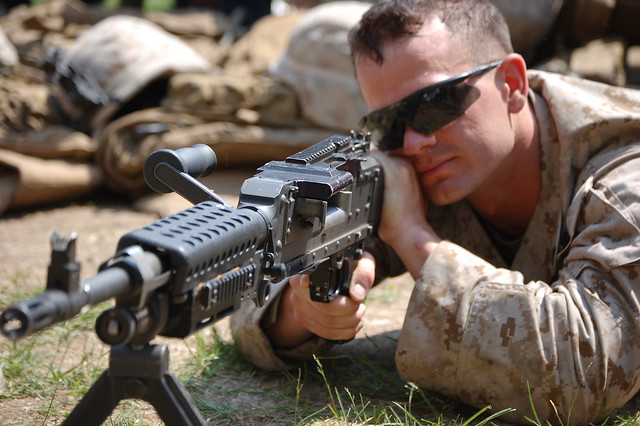 Marine In Action