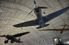 Steven F. Udvar-Hazy Center: P-40 Warhawk with...