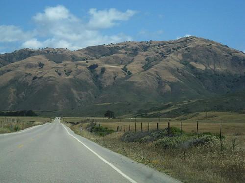 Santa Lucia Mountains off Highway 1 along California's Central Coast