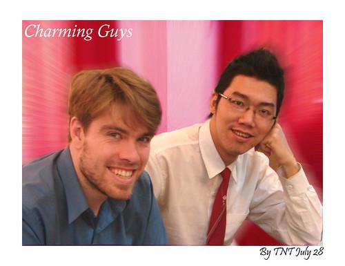 Charming guys