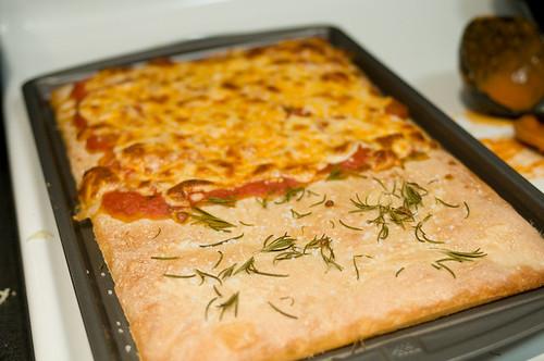Pizza Bianca . . . sorta