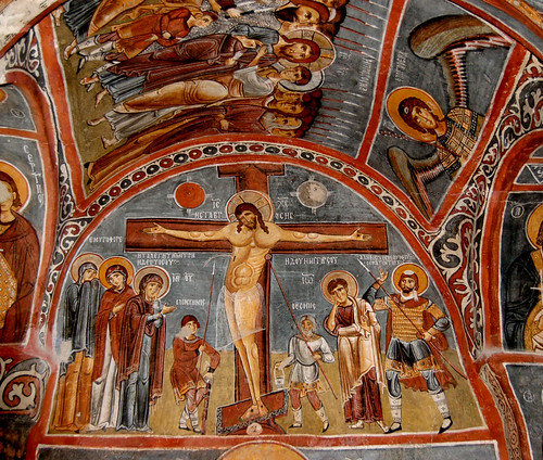 Crucifixtion Fresco