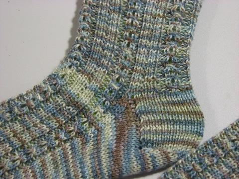 Baltic Socks heel flap