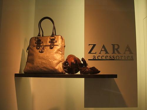Foto del escaparate de Zara