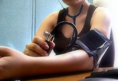 Self monitoring blood pressure