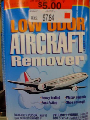 Definitely on the TSA no-carry list...