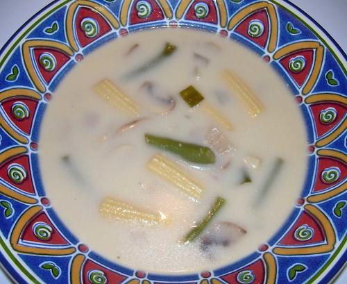 Balinese Vegetable Soup Variation