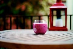 Raspberry/Blueberry smoothie