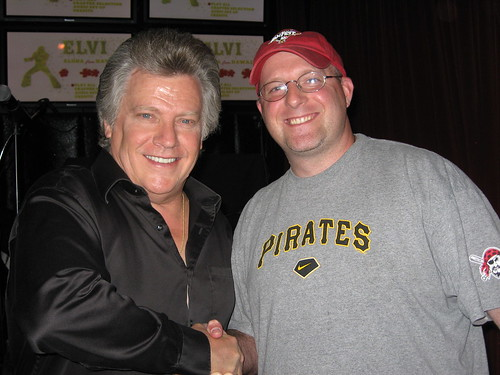 Mike with Conway Twitty