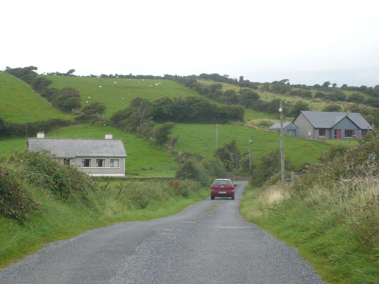 una carretera secundaria